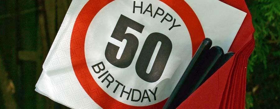 Auguri di compleanno 50 anni