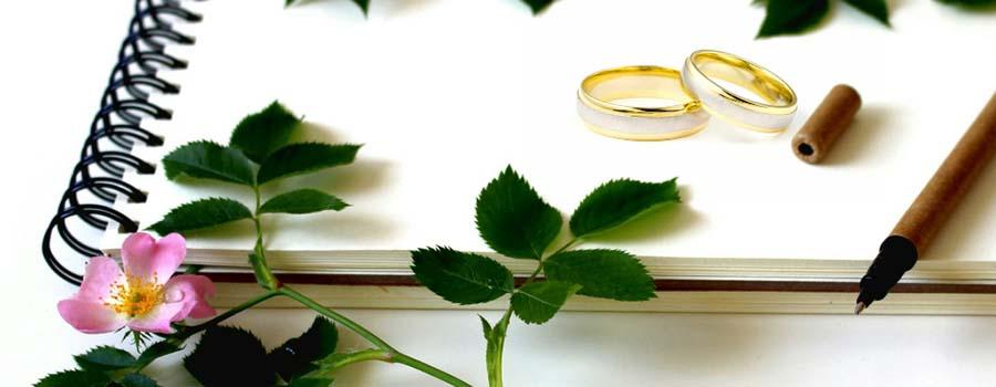 Frasi per il biglietto di matrimonio