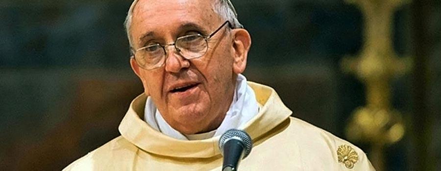 Frasi per il matrimonio di Papa Francesco